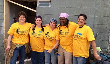 Sisters Help Homeowner with Repair