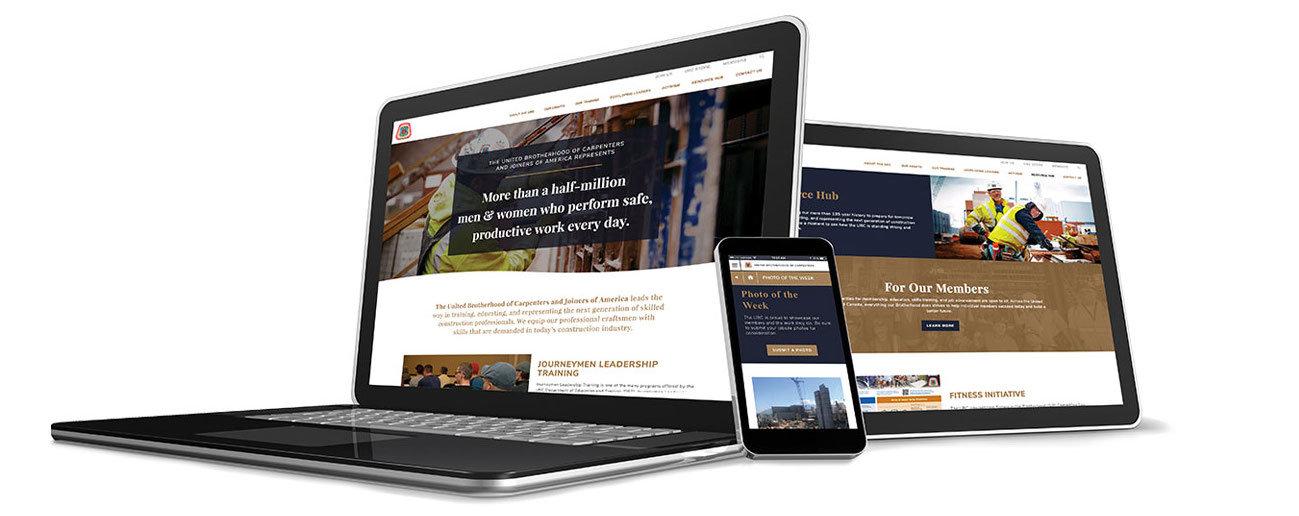 Multi Web Device Mockup